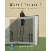 What I Believe 1 by Elizabeth Bottcher