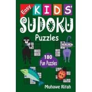 Easy Kids' Sudoku Puzzles by R Muhawe