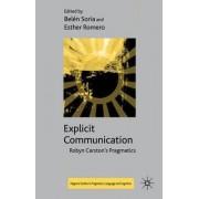 Explicit Communication by Belen Soria
