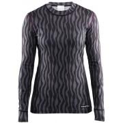 Craft Mix and Match - Sous-vêtement Femme - gris/noir XS T-shirts manches longues