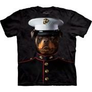 3D zvířecí tričko - Námořní seržant