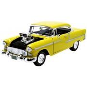 Chevy Bel Air 1955 orange 1:18 by Motormax
