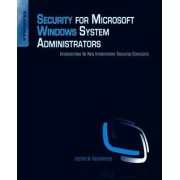 Security for Microsoft Windows System Administrators by Derrick Rountree