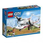 LEGO - 60116 - City - Jeu de Construction - L'Avion de Secours