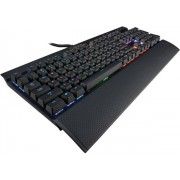 Tastatura Gaming Mecanica Corsair K70, RGB LED, Cherry MX Red, Layout US