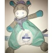Doudou Zebre Cheval Ane Picotin Petit Matelot Baby Nat Bleu Blanc Bateau Peluche Jouet Eveil Marin Bebe Soft Toy Comforter Babynat