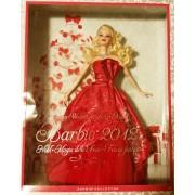 Barbie Poupée Mannequin Collection Mattel Holiday Noël 2012 Doll Collector