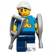Идентифицирана минифигурка Лего Серия 15 Непохватен човек - Lego series 15 Clumsy guy, 71011-4