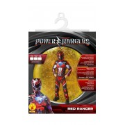 Rubie's Power Rangers - Déguisement Luxe Rouge - Taille S