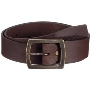 Wrangler Cinturón para hombre, talla 100 cm, color marrón