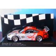 Porsche 911 Gt3 Rsr #80 24h Le Mans 2006 Van Overbeek 1/43 Minichamps-Minichamps
