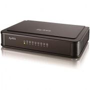 ZYXEL 8 Port Switch Es -108 Desktop Fast Ethernet Switch+3YRS COMPANY WARRANTY