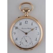Zlaté kapesní hodinky International Watch Co. Schaffhausen