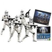 Star Wars BATTLED DAMAGED White Clone trooper set of 4 clones