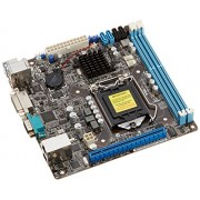 Asus 1150 P9D-I Scheda Madre per Intel C222, M-ITX, 2xD3 1600, USB3, SATA3, Nero