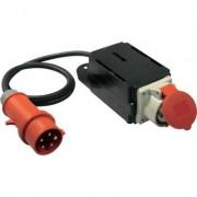 AS Schwabe bekapcsolási áram határoló, 400V, IP44, fekete, 60740 (612976)