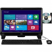 COMPUTADOR ALL IN ONE AOC TELA DE 20' HD DE 500GB 2GB RAM WIN8