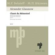 BELAIEFF Partition classique BELAIEFF GLASUNOW ALEXANDER - CHANT DU MENESTREL OP.71 Violoncelle