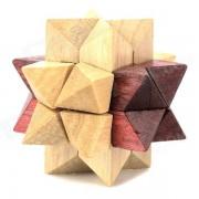 Desmontaje Educativo de Madera Puzzle 12-en-1 pelota de juguete - de madera + Marron