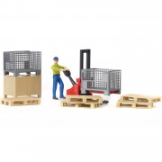 Bruder B-World Logistics Set - 62200