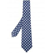 Kiton галстук с узором в горох Kiton
