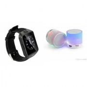 CLONEBEATZ Music Mini Bluetooth Speaker(S10 Speaker) And DZ09 Smart Watch for GIONEE ELIFE E5