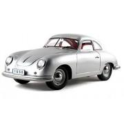 1950 Porsche 356 Coupe , Silver Signature Models 38206 1/18 Scale Diecast Model Toy Car