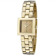 DKNY Quartz Gold Rectangle Women Watch NY4880 DKNY