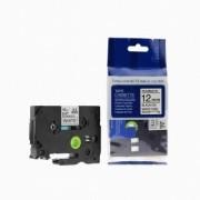 Brother TZ-FX231/TZe-FX231 12mm x 8m flexi černý tisk/bílý podklad kompatibilní