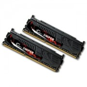 Memorie G.Skill Sniper 8GB (2x4GB) DDR3 PC3-12800 CL9 1.35V 1600MHz Intel Z97 Ready Dual Channel Kit, F3-12800CL9D-8GBSR1
