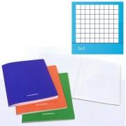 Caiet A5, 36 file - 80g/mp, liniat stanga, coperta carton laminat, AURORA - matematica