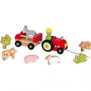 Janod - Tractor Multi con animales (Juratoys J08098)