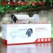In stock International English version DS-2CD2642FWD-IS 4MP WDR Bullet Network ip cctv Camera Vari-focal lens POE,H.264+