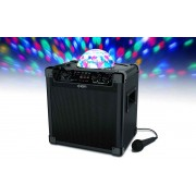 Ion Party Rocker Plus Portable Rechargeable Speaker With Spinning Part