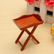1:12 DollHouse Miniature Wooden Furniture Living Room Accessories