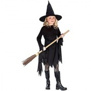 Classic Witchy Witch Black Child Costume Medium (8-10)