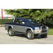 RAMM BIG BAR INOX Ø 76 MITSUBISHI L200 1993- 1996 (type K34)