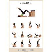 BALANCED BODY Poster con Esercizi su Chair