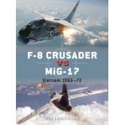 F-8 Crusader vs MiG-17 by Peter Mersky