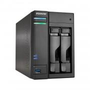 ASUSTOR AS6102T 2-Bay NAS Dual-Core 2GB DDR3L GbE USB 3.0 eSATA HDMI