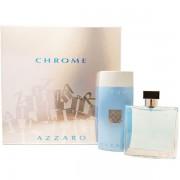 Azzaro Chrome Комплект (EDT 100ml + SG 200ml) за Мъже