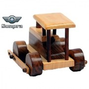 Sonpra Wooden Toy - Antique Handicraft Road Roller