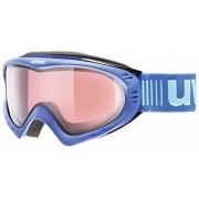 Uvex F2 - Gafas de esquí (adultos, marina Mat One Size
