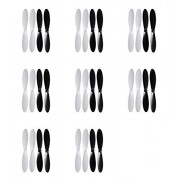 8 X Quantity Of Attop Yd 713 55mm Propeller Blades Props Rotor Set Main Blades Black And White Fast Free Shipping From Orlando, Florida Usa!