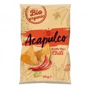 Tortilla bio chips cu chili