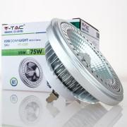 Lâmpada LED AR111 15w»75W 20º Luz Natural 12V 780Lm