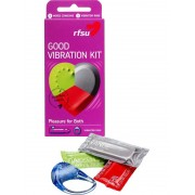 RFSU Good Vibration Kit: Kondomer & Vibrerande ring
