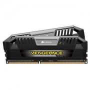 Memorie Corsair Vengeance Pro 8GB (2x4GB) DDR3 PC3-19200 CL11 1.65V 2400MHz Dual Channel Kit, Black/Silver, CMY8GX3M2A2400C11