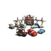LEGO Cars Flo's V8 Café 517pieza(s) - juegos de construcción (Dibujos animados, Multicolor)