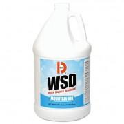 Water-Soluble Deodorant, Mountain Air, 1gal, 4/carton
